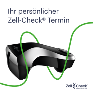 Zell-Check - Werbemittel - WhatsApp