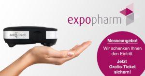 Zell-Check auf der Expopharm 2018