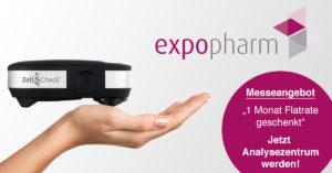 Zell-Check auf der Expopharm 2017