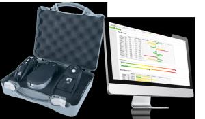 Zell-Check Koffer und Zell-Check Software