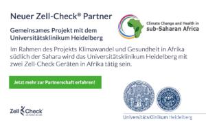 Zell-Check Partnerschaft Universitätsklinikum Heidelberg